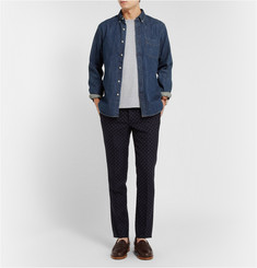 J.Crew Slim-Fit Button-Down Collar Denim Shirt