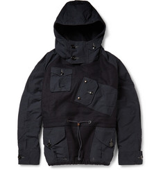 J.Crew Canoe Wool-Felt Hooded Pullover Jacket
