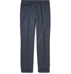 J.Crew Tapered Cotton-Blend Trousers