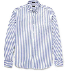 J.Crew Striped Washed-Cotton Shirt