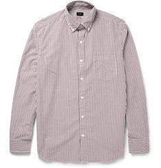 J.Crew Bengal Stripe Cotton Shirt