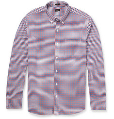 J.Crew Slim-Fit Check Cotton Button-Down Collar Shirt