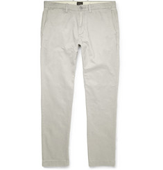 J.Crew 484 Slim-Fit Washed Cotton Trousers