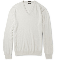 J.Crew Slim-Fit V-Neck Cashmere Sweater