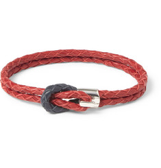 Miansai Woven-Leather Bracelet