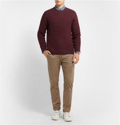 Hentsch Man Ribbed Wool-Blend Sweater