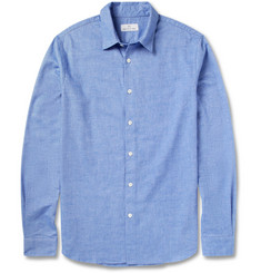 Hentsch Man Friday Brushed Cotton-Twill Shirt