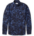 Hentsch Man - Sunday Floral-Print Cotton-Chambray Shirt