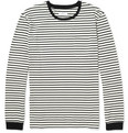 Hentsch Man - Striped Long-Sleeved Cotton-Jersey T-Shirt