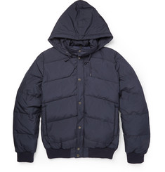 A.P.C. Lightweight Quilted Hooded Jacket