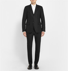 A.P.C. Black Wool Suit Jacket