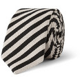 Marwood - Striped Wool and Cotton-Blend Tie