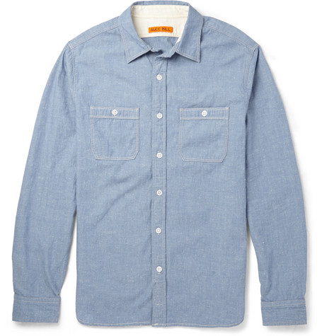Alex Mill Flecked Chambray Shirt