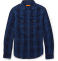Alex Mill Check Woven-Cotton Shirt
