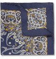 Alex Mill - Paisley Wool Pocket Square