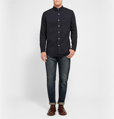 Simon Miller Arcata Over-Dyed Denim Shirt