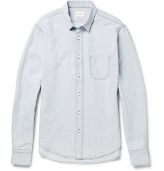 Simon Miller Beacon Faded Denim Shirt