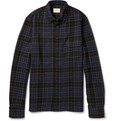 Simon Miller - Checked Wool-Flannel Shirt