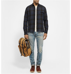 Simon Miller Checked Wool-Flannel Shirt