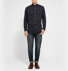 Simon Miller Slim-Fit Washed Selvedge Denim Jeans
