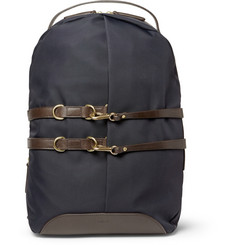 Mismo Canvas and Leather Backpack