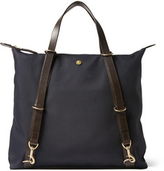 Mismo Canvas and Leather Tote Bag