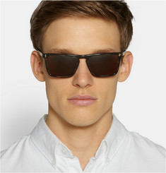 Oliver Peoples Bernardo D-Frame Acetate Sunglasses
