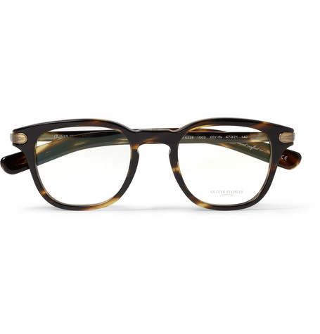 Oliver Peoples 25th Anniversary Square-Frame Optical Glasses