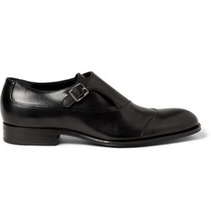 Mr. Hare Bird Leather Monk-Strap Shoes