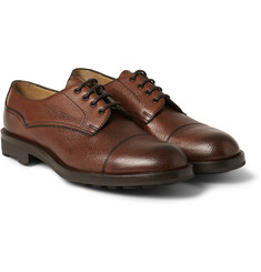 Edward Green Dundee Pebble-Grain Derby Shoes