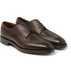 Edward Green Dover Pebble-Grain Derby Shoes