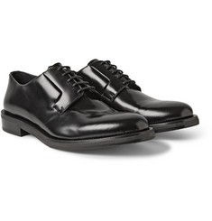 Jimmy Choo Alaric Polished Leather Derby Shoes
