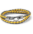 Tod's - Woven-Leather Wrap Bracelet