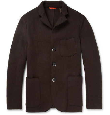 Barena Unstructured Lightweight Wool-Blend Jacket