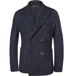 Barena Slim-Fit Slub Wool and Cotton-Blend Jacket