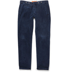 Barena Slim-Fit Indigo-Dyed Trousers