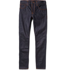 Nudie Jeans Steady Eddie Organic Dry-Denim Jeans