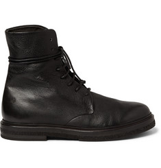 Marsell Full-Grain Leather Lace-Up Boots