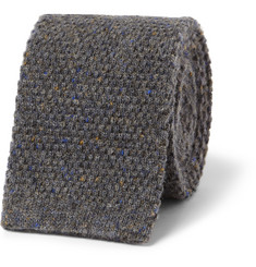 Oliver Spencer Knitted Wool Tie