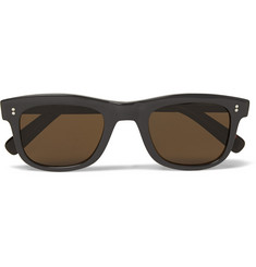 Oliver Spencer Bert Square-Frame Acetate Sunglasses