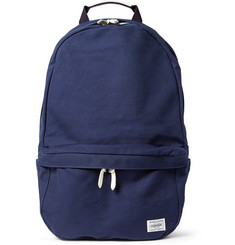 Porter-Yoshida & Co Beat Leather-Trimmed Canvas Backpack
