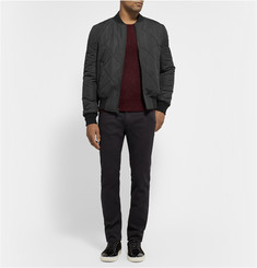 Sandro Reversible Quilted Bomber Jacket