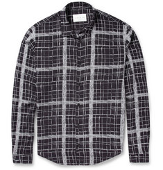 Sandro Lightweight Check-Print Shirt