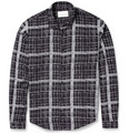 Sandro - Lightweight Check-Print Shirt