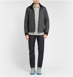 Aether Boundary Panelled Padded Bomber Jacket