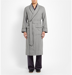 Emma Willis Lanella Cotton and Wool-Blend Dressing Gown