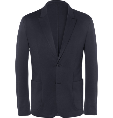 Wooyoungmi Unstructured Jersey Blazer