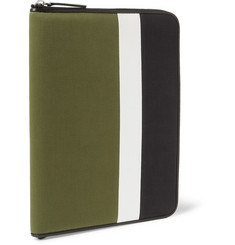 Wooyoungmi Striped Canvas Document Holder