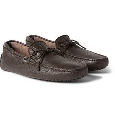 Tod's Gommino Grained-Leather Driving Shoes