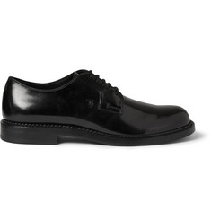 Tod's Polished-Leather Derby Shoes